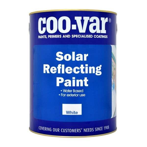 Coo Var Solar Reflective Roof Paint Paints4trade Com