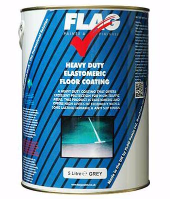 Flag Heavy Duty Elastomeric Floor Paint Www Paints4trade Com